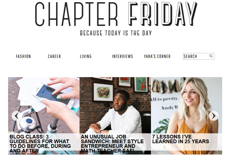 Chapter Friday