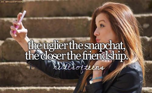 Snapchat friends