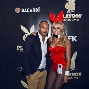 LAUNCHPARTY PLAYBOY CONDOMS